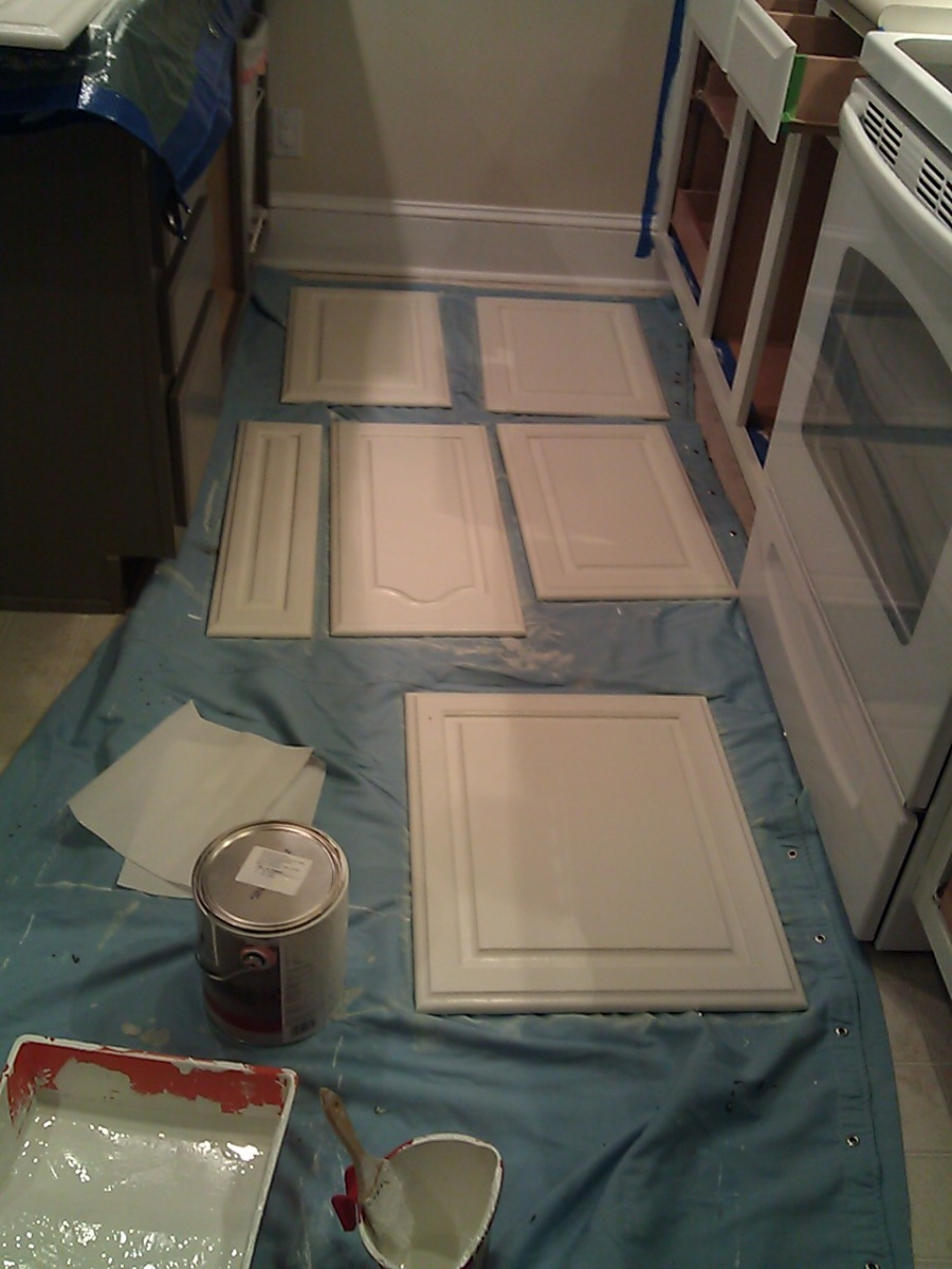 At least one coat of primer