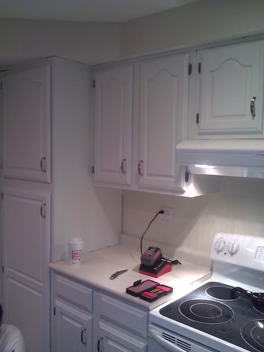 The 1,2,3's of painting kitchen cabinets