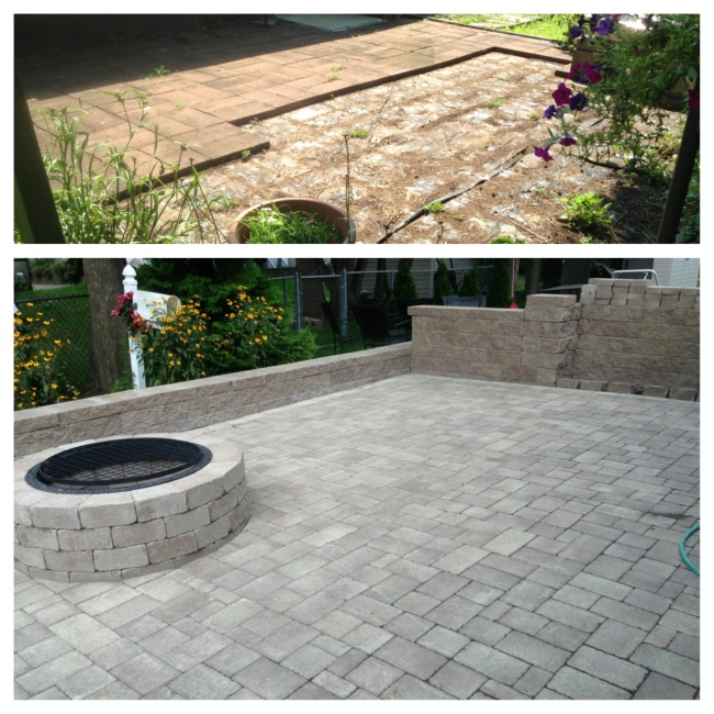 Patio rehab and new patio installation