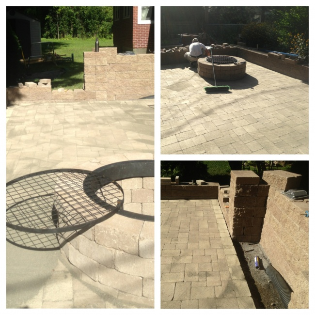 Patios, retaining walls, outdoor kitchens, firepits