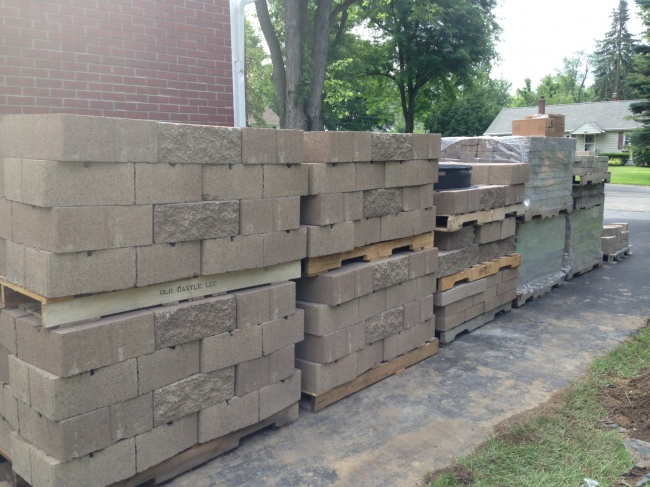 Brick, paver, retaining wall block, gravel, and decorative stone delivery and installation