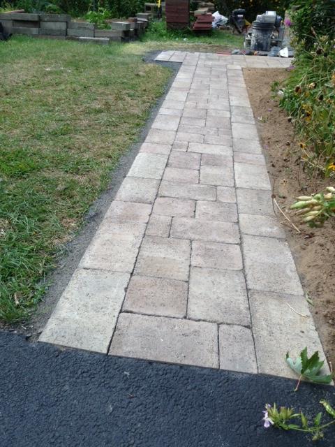 Walk way installation and repair